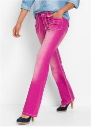 Stretchjeans BOOTCUT, John Baner JEANSWEAR, middenfuchsia used