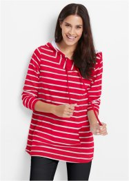 Sweatshirt, bpc bonprix collection, rood gestreept