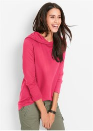 Sweatshirt, bpc bonprix collection, hibiscuspink