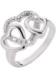 Ring «Hart», bpc bonprix collection, zilverkleurig