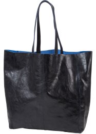 Shopper, bpc bonprix collection, zwart metallic