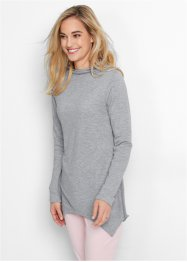Sweatshirt, bpc bonprix collection, lichtgrijs gemêleerd