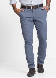 Chino slim fit, bpc selection, olijfgroen gedessineerd