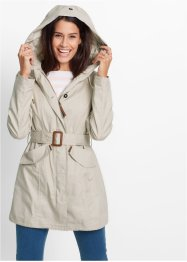 Parka, bpc bonprix collection, kiezelbeige