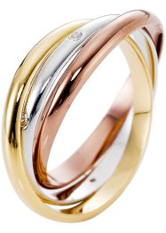 Ring «Murnia», bpc bonprix collection, goudkleurig/zilverkleurig