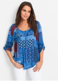 Tuniek, bpc bonprix collection, gentiaanblauw gedessineerd