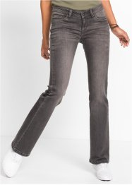 Jeans bootcut, RAINBOW, light grey denim