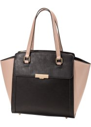 Tas, bpc bonprix collection, zwart/vintage roze
