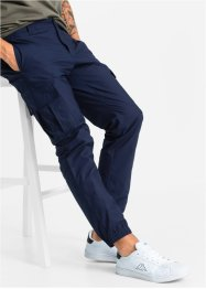 Cargobroek regular fit tapered, RAINBOW, donkerblauw