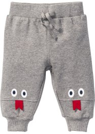 Sweatbroek, bpc bonprix collection, lichtgrijs gemêleerd