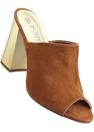 Clogs, BODYFLIRT boutique, cognac