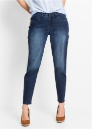 Stretchjeans CLASSIC, John Baner JEANSWEAR, donkerblauw