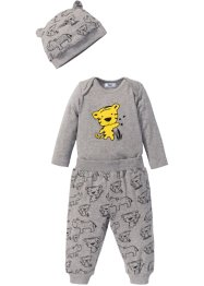 Longsleeve+shirtbroek+muts (3-dlg. set), bpc bonprix collection