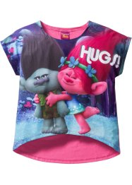 Shirt «Trolls», Trolls the Movie, pink met print