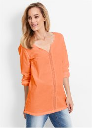 Blouse, bpc bonprix collection, nectarine