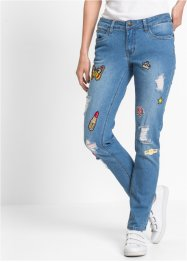 Jeans slim fit, RAINBOW, blue stone