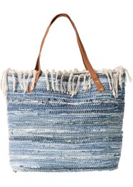 Tas, bpc bonprix collection, blue stone/blue bleached/crème