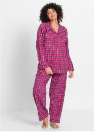 Flanellen pyjama, bpc bonprix collection