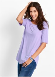 Longshirt, bpc bonprix collection, lichtviolet