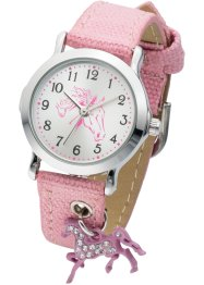 Kinderhorloge, bpc bonprix collection, roze