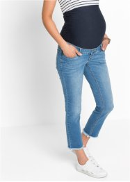 7/8-zwangerschapsjeans, bpc bonprix collection, blue bleached
