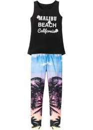 Top+legging (2-dlg. set), bpc bonprix collection, zwart