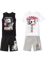 T-shirt+singlet+bermuda (4-dlg. set), bpc bonprix collection