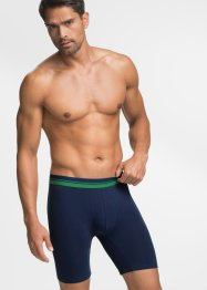 Boxershort (set van 2), bpc bonprix collection, donkerblauw/groen