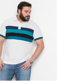Poloshirt, bpc bonprix collection, wit gestreept