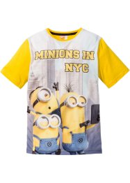 Shirt «Minions», Despicable Me, geel met print