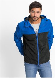 Outdoorjack, bpc bonprix collection, blauw/zwart