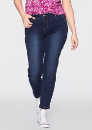 Powerstretchjeans, John Baner JEANSWEAR, donkerblauw