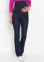 Zwangerschapsjeans bootcut, bpc bonprix collection, dark denim
