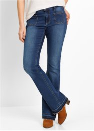 Push-upjeans bootcut, bpc bonprix collection, blue stone
