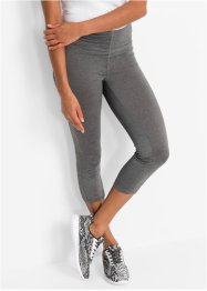 Naadloze sportlegging, bpc bonprix collection, rookgrijs gemêleerd