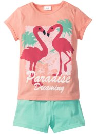 Pyjama (2-dlg. set), bpc bonprix collection, roze/mint