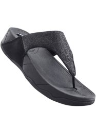 Teenslippers, bpc selection, zwart
