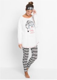 Pyjama+slaapmasker (3-dlg. set), bpc bonprix collection