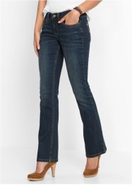 Stretchjeans BOOTCUT, John Baner JEANSWEAR, donkerblauw