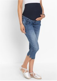 3/4-zwangerschapsjeans, bpc bonprix collection, blue stone