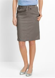 Rok, bpc bonprix collection, middenbruin