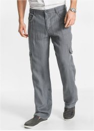 Cargobroek regular fit, bpc bonprix collection, rookgrijs