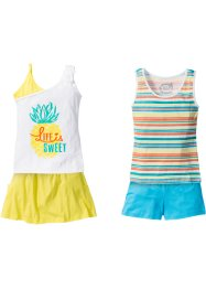 Top+short+rok (4-dlg. set), bpc bonprix collection