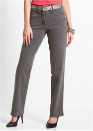 Stretchbroek, bpc selection, grey denim