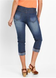 Katoenen 3/4 jegging met comfortband, bpc bonprix collection