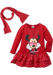 Jurk+sjaal «MINNIE» (2-dlg. set), Minnie Mouse