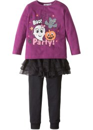 Pyjama met tutu (3-dlg. set), bpc bonprix collection