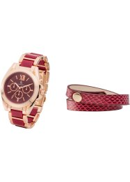 Horloge+armband (2-dlg. set), bpc bonprix collection