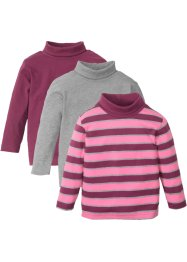 Colshirt (set van 3), bpc bonprix collection