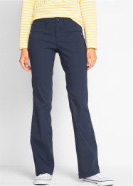 Afslankende stretchbroek bootcut, bpc bonprix collection